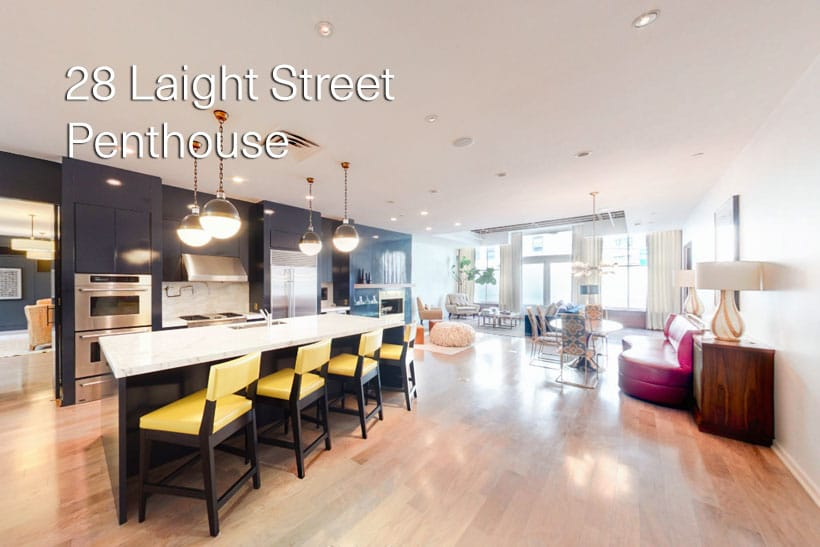 28 Laight Street Penthouse