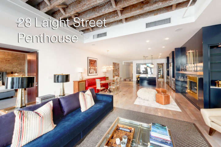 28 Laight Street Penthouse