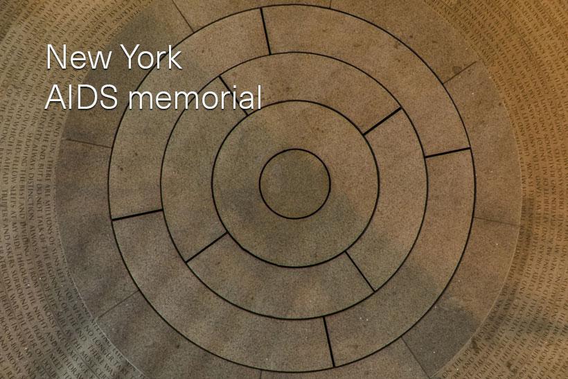 New York AIDS memorial
