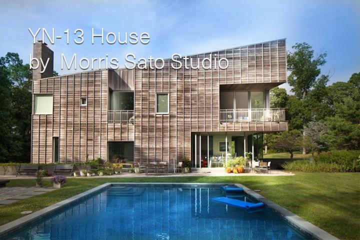 YN-13 House by Morris Sato Studio
